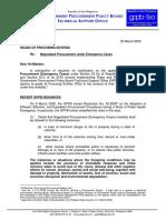 NPM 3-2020_Negotiated Procurement (Emergency Cases)