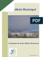 Bulletin Municipal 2010