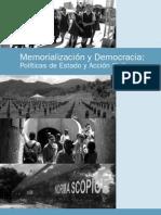 4-Memorialización y Democracia