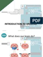 Arduino Introduction Workshop
