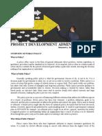 Concept of Development Administration