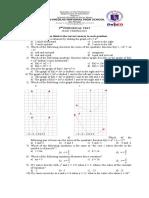 2nd P. T. Grade 9 Math