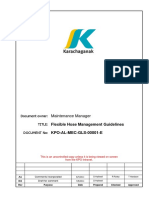 KPO-AL-MEC-GLS-00001-E Flexible Hose Management Guidelines