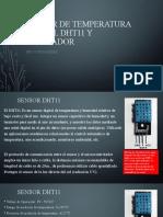 SENSOR  DHT11 Y RELEVADOR