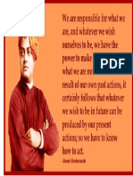 Vivekanandha Quote Print
