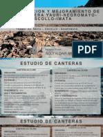 ESTUDIO DE CANTERAS PDF