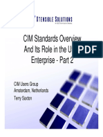 CIM Standards Overview Layers 2 and 3