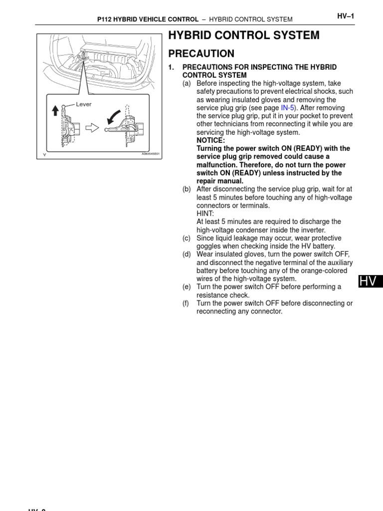 Toyota RAV4 Service Manual: Removal (200511-200601)
