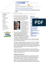 Windows XP Home Networking_ Building Network Bridges