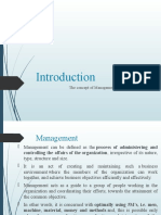 Introduction to management-1