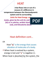 HEAT LECTURE NOTES