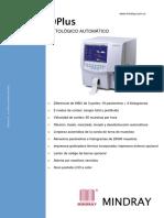 MINDRAY - BC-3000 plus analizador automático