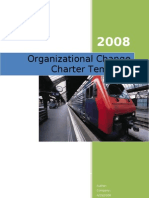 Charter for Change Management Project Team