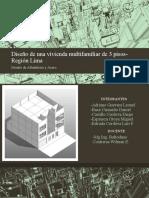 Diseño de una vivienda multifamiliar de 3 pisos-Región