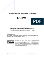 GSBPM 5.0 - SPANISH LANGUAGE VERSION