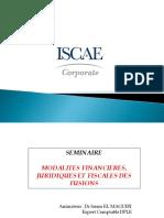 Modalités Financières Juridiques Et Fiscales Des Fusions Complet[407]