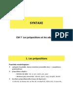 Syntaxe_CM7