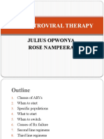 Anti-Retroviral Therapy