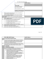 Internal Audit Checklist Questions - EMS