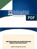 PRESENTACIÓN MARCO METODOLOGICO 2020 A MET. INVEST.08-05 MEDICINA