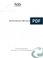 MRT New Data Explorer Manual (2019.09)
