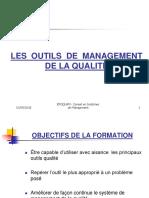 LES OUTILS DE MANAGEMENT DE LA QUALITE D1J