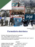 Tabulação pesquisa Morros cariocas (V2)