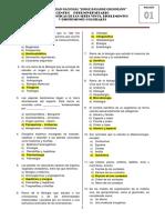 1RA PRACTICA DE CEPU INVIERNO 2020 CARACTERISTICAS DE LOS SERES VIVOS BIOELEMENTOS Y DISPERSIONES COLOIDALES CON CLAVE