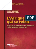Louis Favreau, Abdou Salam Fall, Chantale Doucet - L'Afrique qui se refait _ Initiatives socioeconomiques des communautes et developpement en Afrique noire (2007).pdf