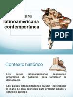 Literatura latinoamericana contemporanea