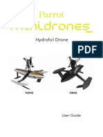 Hydrofoil-drone User-guide Uk 0