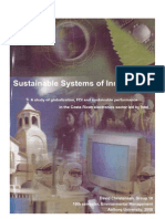 Sustainable Systems of Innovation? A Study of Globalization, FDI and Sustainable Performance in the Costa Rican Electronics Sector Led by Intel