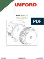 DATASHEET-STAMFORD-ALTERNATOR-PI144E-3-PHASE