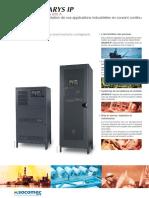 SHARYS IP. Redresseurs. de 15 à 200 A L alimentation de vos applications industrielles en courant continu.pdf