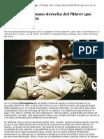 Prófugo nazi y mano derecha del führer que vivio en La Unión | Diario El Ranco