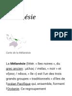 Mélanésie — Wikipédia