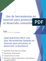USO DE HERRAMIENTAS COMUNITARIAS