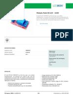 Módulo Relé DC12V - 220V (1)