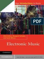 (Cambridge Introductions to Music) Nick Collins, Margaret Schedel, Scott Wilson - Electronic Music-Cambridge University Press (2013)