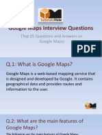 Top 25 Google Maps Interview Questions and Answers