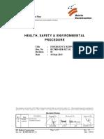 BCPRD-HSE-027_01 Emergency Response Plan 01