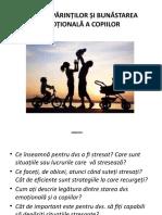 stresul copilului