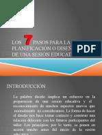 LOS 7 PASOS PARA LA PLANIFICACIÓN