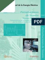 Perturbaciones de Tensión Norma EN 50160 Características de la tensión suministrada por las redes generales de distribución.pdf