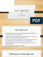 2. Oral Approach