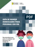 Guía de manejo domiciliario para personas con VIH