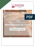 profesorado - online purnam yoga