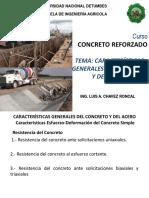 02 CARACTERISTICAS GENERALES DEL CONCRETO