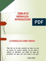 Hidraulica_Tema Nº 01