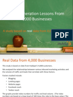 HubSpot - lead-generation-lessons-from-4000-businesses-final